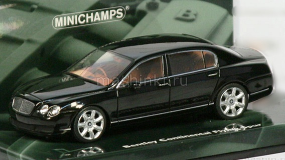436139460 ГС 14+ MINICHAMPS MINICHAMPS 1/43 BENTLEY Continental Flying Spur 2005 black