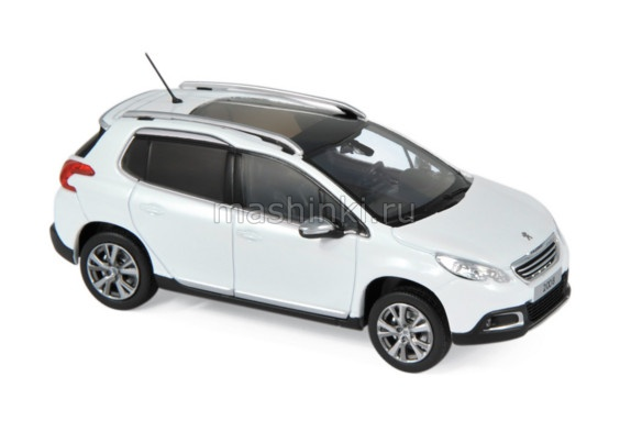 479820 14+ NOREV NOREV 1/43 PEUGEOT 2008 кроссовер 2013 white