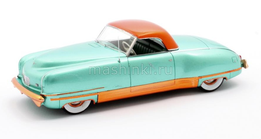 MX20303-032 14+ MATRIX MATRIX 1/43 CHRYSLER Thunderbolt Concept LeBaron (закрытый) 1941 metallic green