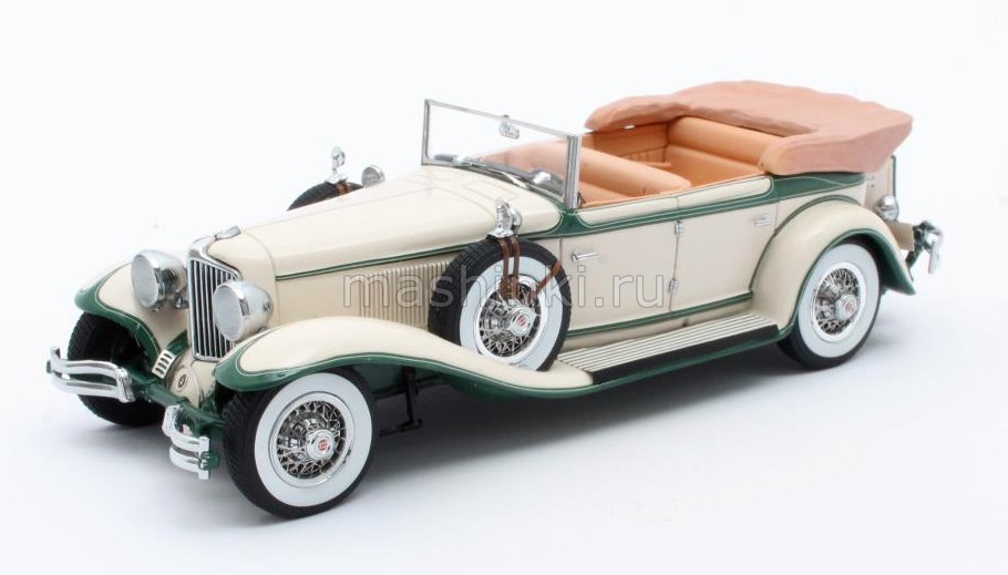 MX40307-011 14+ MATRIX MATRIX 1/43 CORD L-29 Phaeton Sedan (открытый) 1931 beige