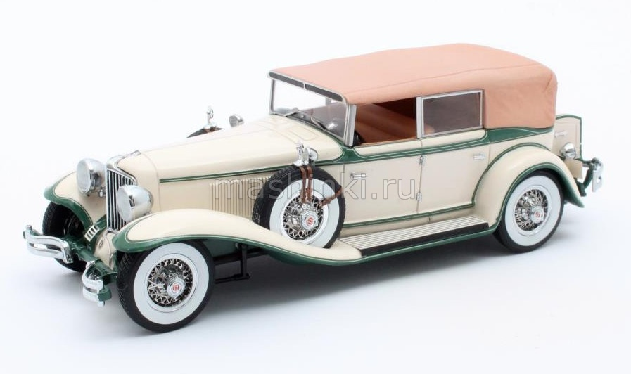 MX40307-012 14+ MATRIX MATRIX 1/43 CORD L-29 Phaeton Sedan (закрытый) 1931 beige