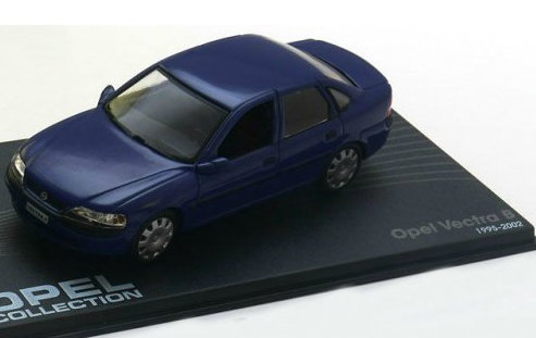 OP69 IXO OPEL COLLECTION IXO-OPEL 1/43 OPEL Vectra B Sedan 1995-2002 blue
